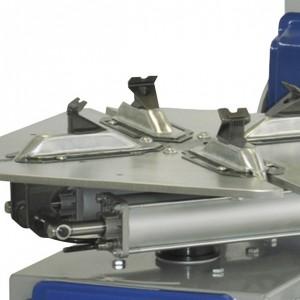 Giuliano S226 pro- Pedállal kapcsolható kétsebességes asztalforgatás a gyors munka végzéshez.