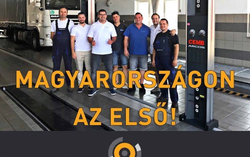 Magyarországon az első!