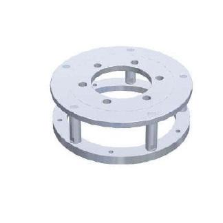 AA0265 6 csavaros Adapter Ø: PCD 205 mm/center 161 mm